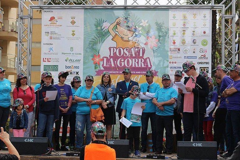 Jornada solidària a Balaguer en una nova edició de Posat la Gorra d1120b4cc17