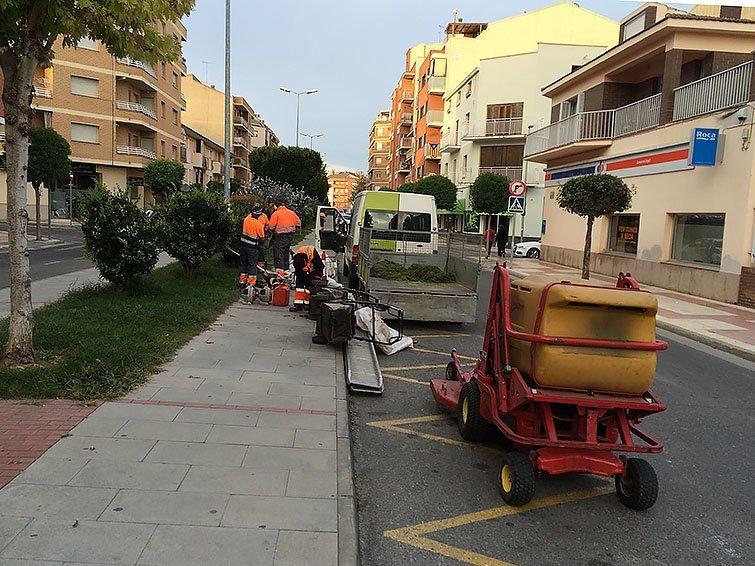 Mollerussa contracta la fundaci aspros per al servei de for Jardineria la noguera