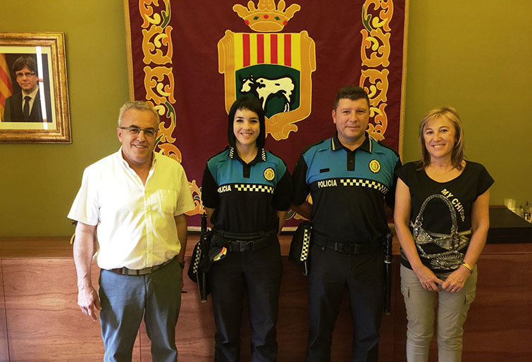 Les Borges Blanques incorpora dos nous agents a la Policia Local