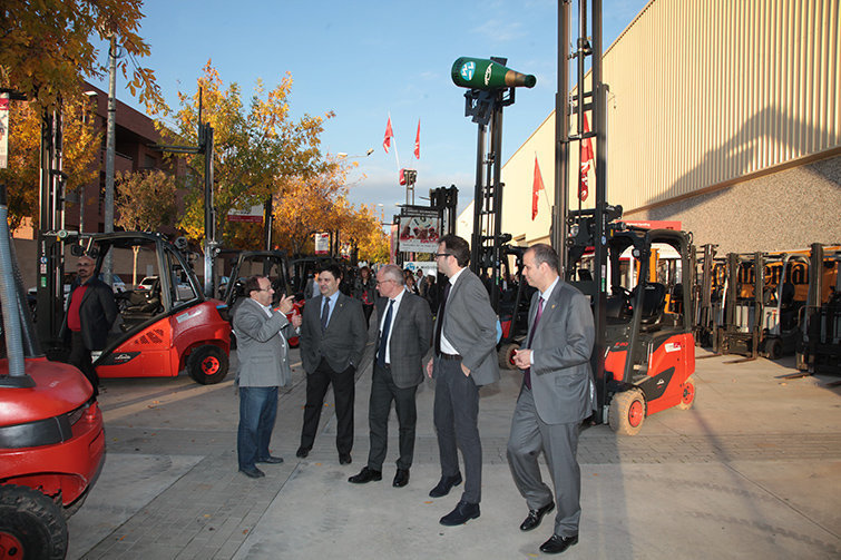 Mostra de vehicles industrials a Autotardor