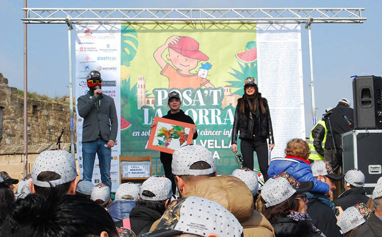 ... Seu Vella de Lleida. festa edició arriba ens fa sota. Lo Postu va  participar en la campanya Posa t la Gorra! cd382070ced
