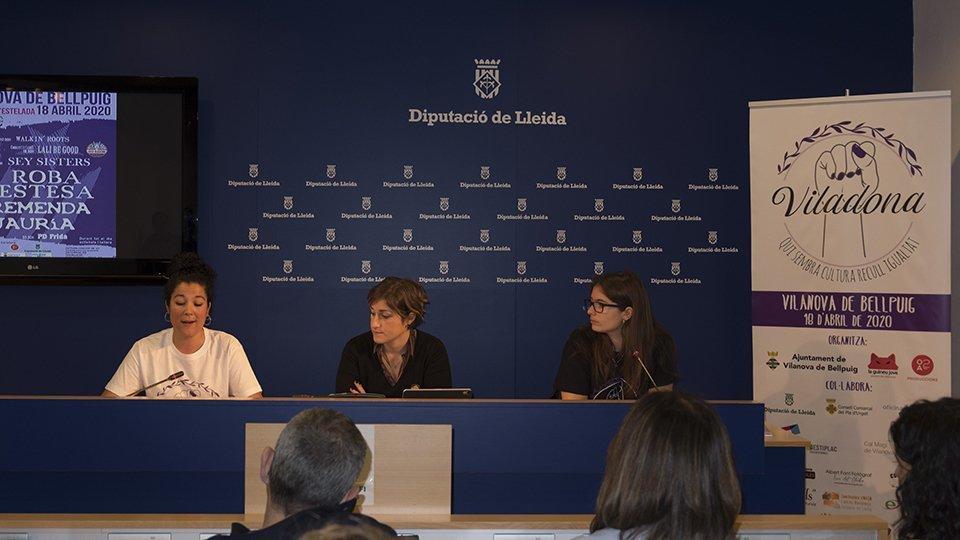 Presentació Viladona a la Diputació de Lleida 2