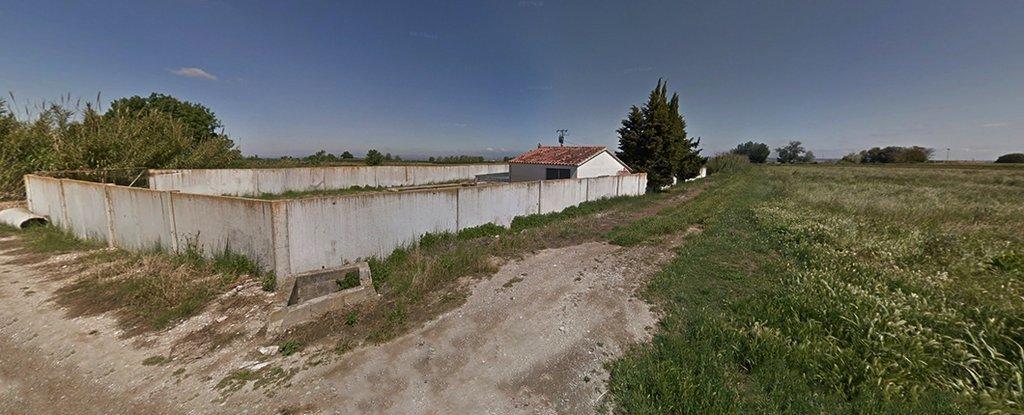 Finca en la que es construirà la bassa portada @territoriscat