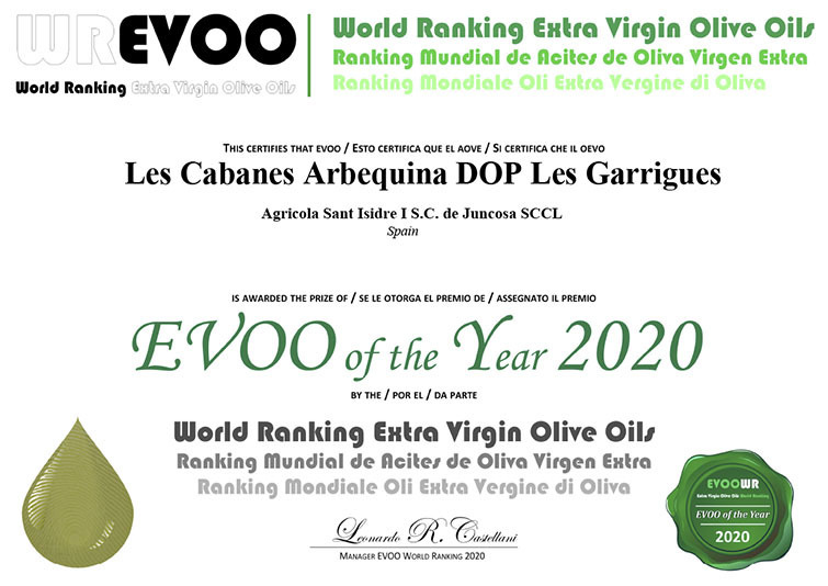 EVOO OF THE YEAR
