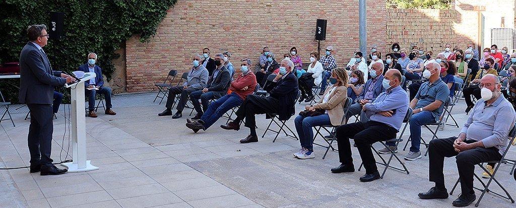 El Poal, centenari de la Independència de Bellvís, presidit per Joan Talarn @El Poal